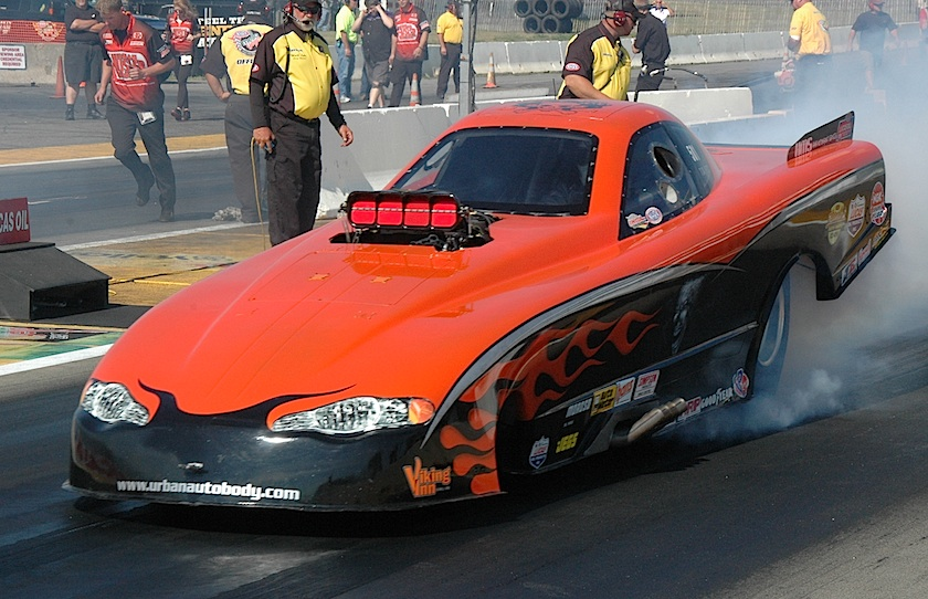 Winnipeg's Scott McVey was the only Canadian car entered in TAFC -- Scott ran a very strong 5.640 secs to qualify 7th.
