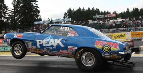 """Sportsman racer extraordinare Dan Fletcher continued his amazing winning ways with an event """"double up""""."""