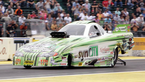 Jason Rupert qualified Geoff Goodwin's SynOil solidly in the middle of the TAFC program with a 5.674 secs.