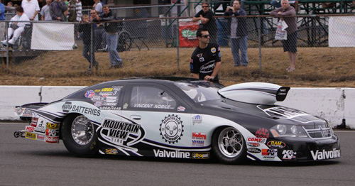 With his win - California's Vince Nobile has won back to back NHRA events.