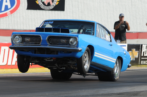Toronto's Gus Mantas was the only Canadian car entered in the Mopar Hemi Challenge this year.  Gus qualified 8th of 19 cars entered.