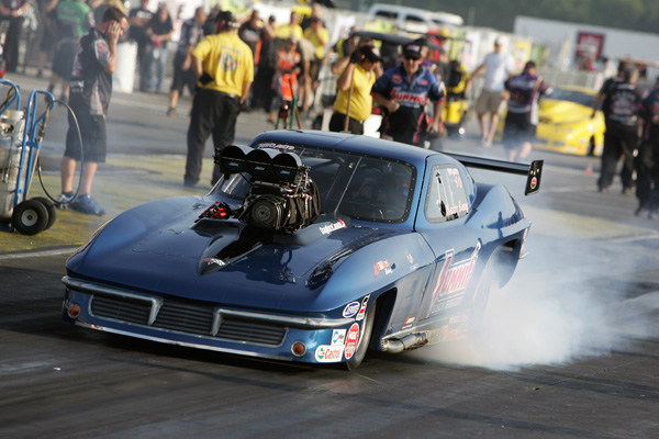 The dynamic duo of Kenny Lang & Al Billes showed very well again in Pro Mod.  After qualifying #7 - they advanced to the 2nd round before losing a super close 5.976 to 5.983 decision to eventual winner Mike Janis.