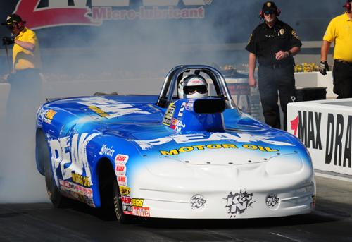 Super Gas winner - Sherman Adcock