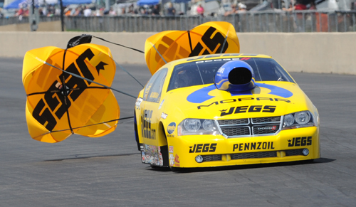 Jeg Coughlin won for the 55th time in his illustrious racing career