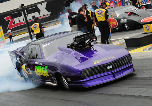 For Pro Mod winner Von Smith his win at Concord was the 5th of his NHRA racing career.