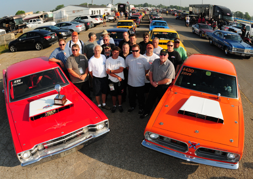 The best Mopar SS/AH class racers in the world faced off at Indy for the 2013 Mopar HEMI Challenge