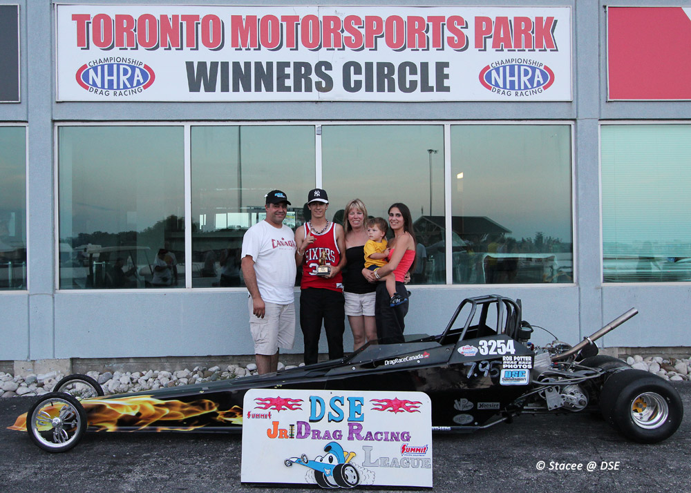 Matteo Ramundo topped the very tough Jr. Dragster field