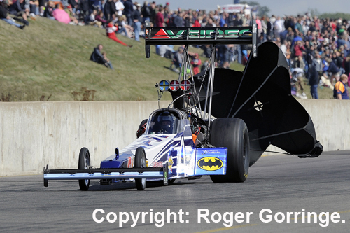 Norway's Thomas Nataas claimed the 2013 FIA Top Fuel points Championship