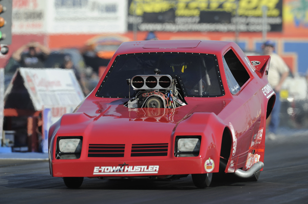 Shane Reykdal's '79 Omni from Edmonton was also entered in the event's massive 7.0 secs index category.