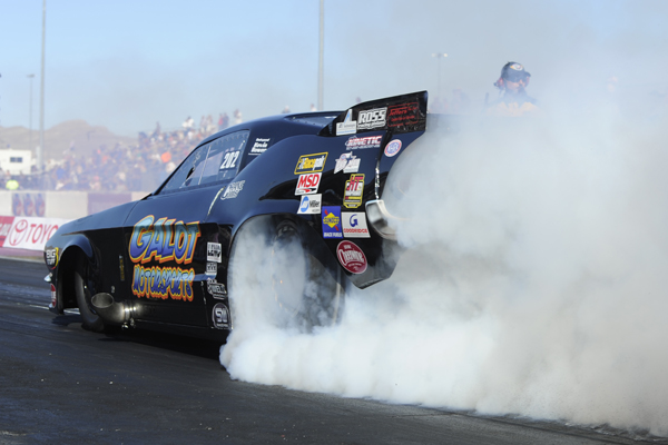 Todd Tutterow qualified #1 and set both low ET and top speed.