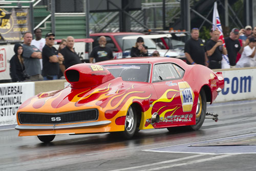Spencer Hyde was the quickest Canuck in the Top Sportsman class with a very stout 6.785 @ 202.88mph