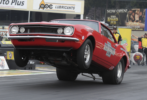 Niagara Falls area racer Robert Carpenter had a superb event driving the Gaffney Motorsports SS/GA Camaro going to the semi final round in Super Stock