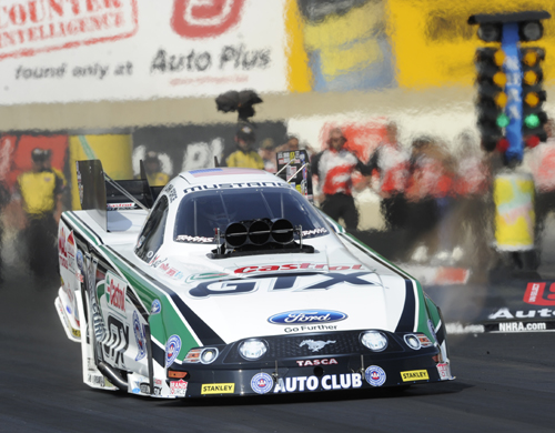 John Force's huge win in fuel FC included his first ever sub 4-secs run (3.987 secs)