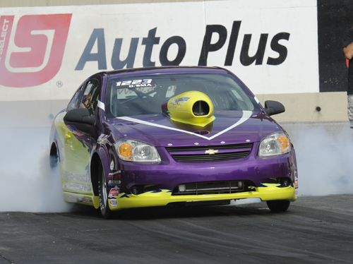 Ottawa-area racer Sean Gaffney was driving this '10 Cobalt in Comp at Reading.  Sean qualified at .398 under the D/SMA index but lost out in round #1