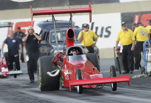 Stoney Creek's Jeff and Gary Veale had another solid effort in TAD class racing - going to round two and setting top speed of the meet at 274.11 mph