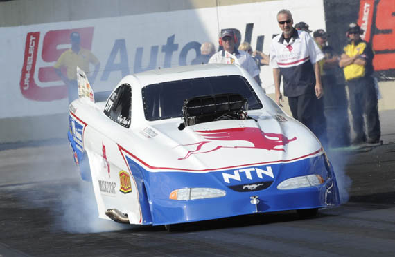 Paul scored his first NHRA nationals title from the #2 qualified position.