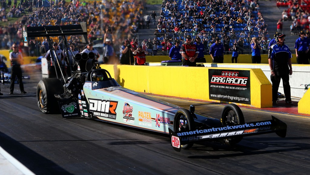 Top Fuel winner Darren Morgan moved closer to the 2013 ANDRA Championship title.
