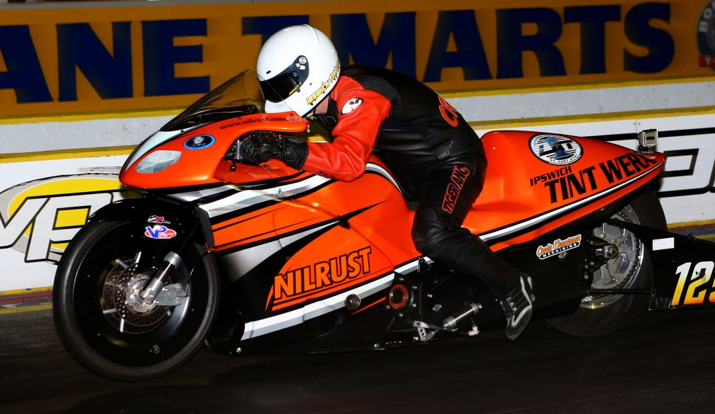 Queensland racer Luke Crowley has moved to the verge of his first ANDRA Pro Stock Motorcycle season championship.