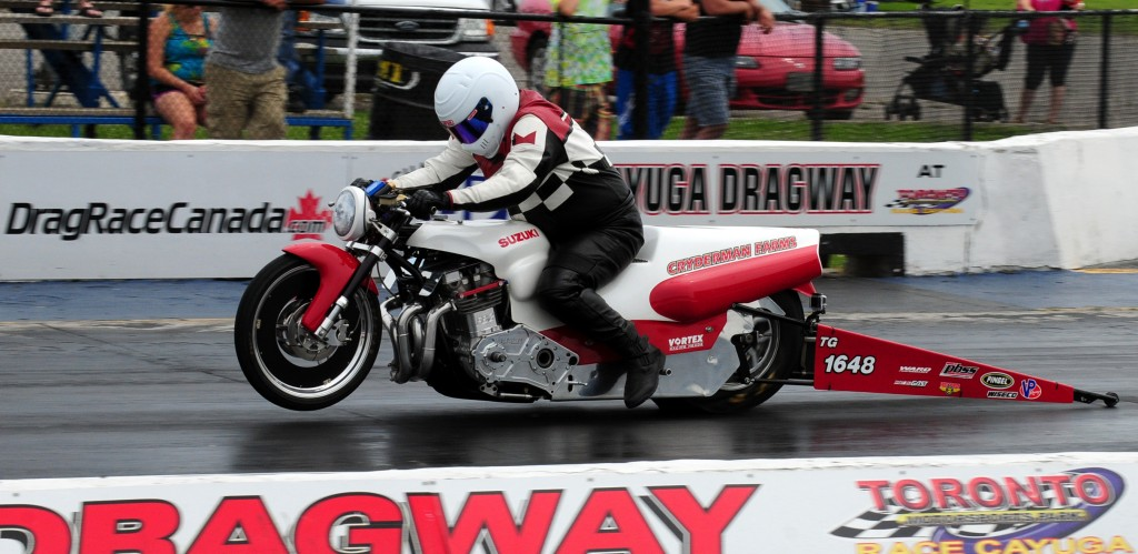 Dan Cryderman rode to a season championship in Eastern Canada PBSS series.