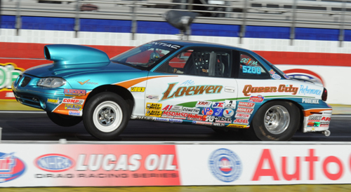 Regina's Abe Loewen - who won the AAA Finals last year  came close again with a superb 5th round finish in Super Stock