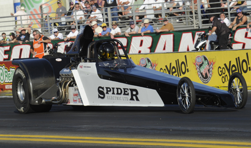 Mark Simon (from Medicine Hat) just missed winning the NHRA Super Pro World Championship - losing out in the final round!