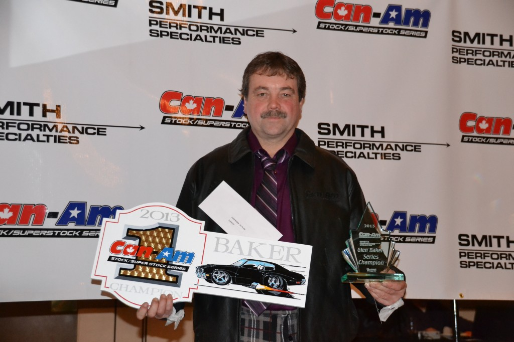 2013 Can-Am Stock/SS Champion - Glen Baker