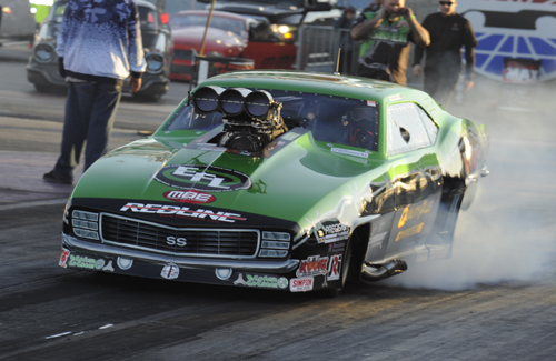 Eric Latino came in from Ontario and made the Pro Mod final.