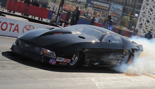 Jim Bell continued his very steady improvement in Pro Mod running his turbo Mustang to a #3 qualifier and a 2nd round finish.