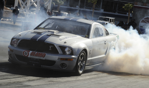 XDR class racing included this 2007 Ford Mustang raced by Derek Przeginiak based from Calgary.