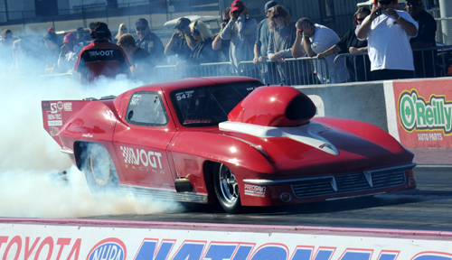 Regina's Vogt Brothers tried their hand in Pro Mod with their always impressive '63 Corvette.