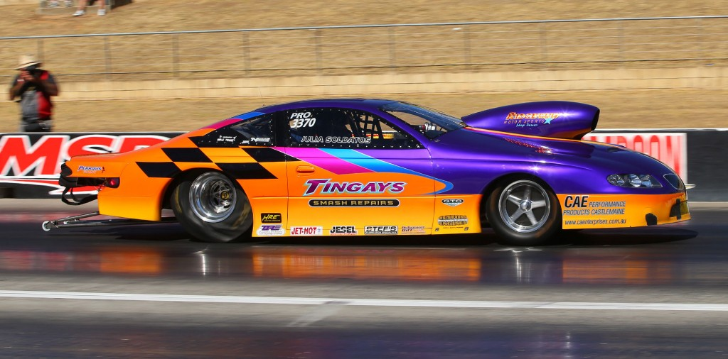 Pro Stock racing featured a great win by Chris Soldatos