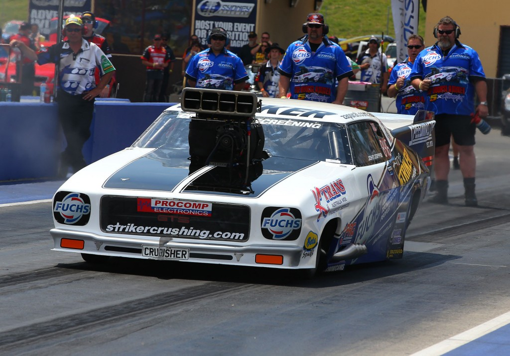 With his win at Sydney, Australian Top Doorslammer powerhouse clinched the '13 ANDRA points championship.