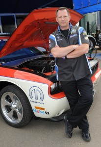 Blair Dezwart - a Detective for Edmonton's Police Force heads up Blue Line Racing