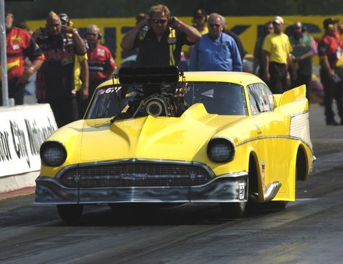 Prior to his sabbatical from racing - Glen Kerunsky enjoyed terrific success racing this supercharged '57 Chevy