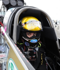 Brittney Force had her best finish yet in Top Fuel - a runner-up.