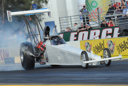 Alberta's Don St. Arnaud came very close to winning his first NHRA national event last Sunday at Pomona