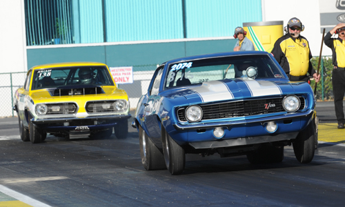 Maritimes based Super Stock racers Brian Oakes and Wendall Howes both lost out in early eliminations.