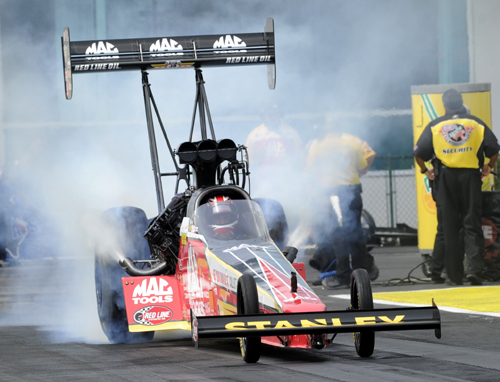 Points leader Doug Kalitta won in Top Fuel driving his Mac Tools dragster