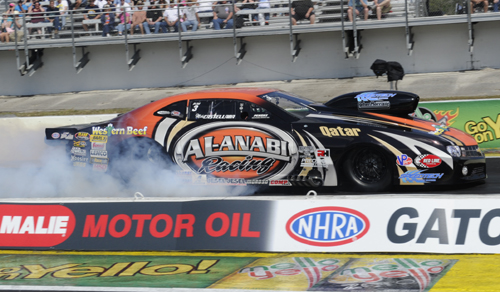 Pro Mod class stalwart racer Mike Castellana came away victorious in Pro Mod.