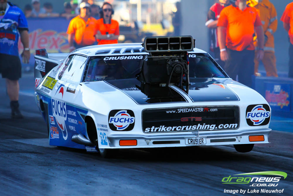 TD class stalwart John Zappia set both low ET and top speed at 5.797 secs and 250.69 mph.