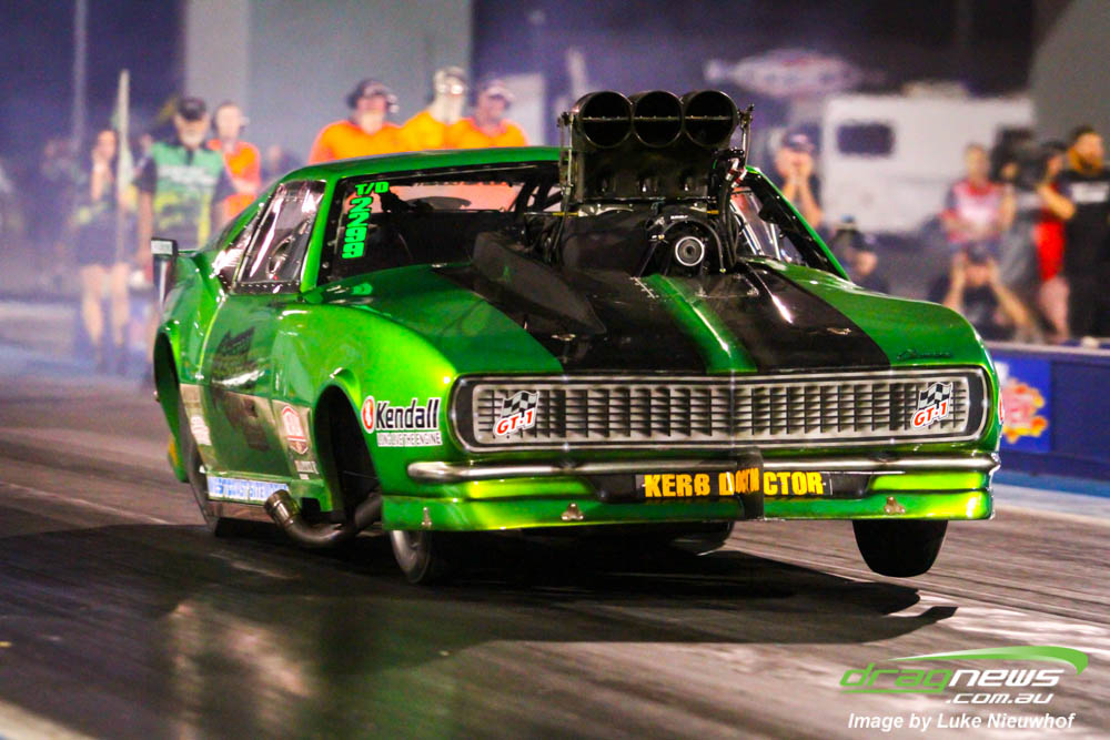 Daniel Gregorini was an unexpected winner for the Top Doorslammer in ANDRA  season round #3 for the category.