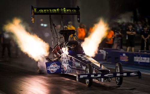 Phil Lamattina collected the  Top Fuel title on Saturday at Perth and ran top speed of the event at 327.27 mph.