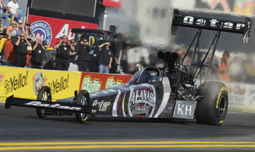 Shawn Langdon - driver of the NHRA Top Fuel Championship winning Al-Anabi Racing dragster will be a featured guest for the Motor City Hot Rod & Racing Expo - March 22-23.