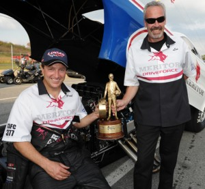 Paul Noakes and Les Mellows broke through big time within NHRA Lucas Oil TAFC racing last - and are primed for more.