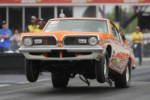Jacob Pitt won Stock in this classic '67 Barracuda