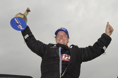 Mike Janis won his 3rd career NHRA Pro Mod event at Houston