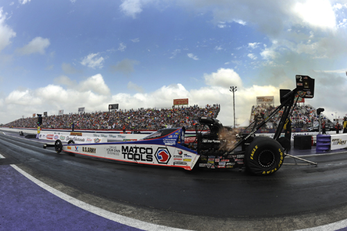 With his win in Top Fuel - Antron Brown assumed the NHRA points lead