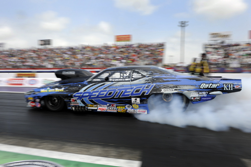 With his R/UP finish - Mike Castellana increased his points lead in Pro Mod.