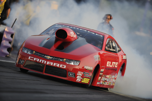 Erica Enders-Stevens recorded the 99th win for a lady racer in NHRA drag racing at Houston