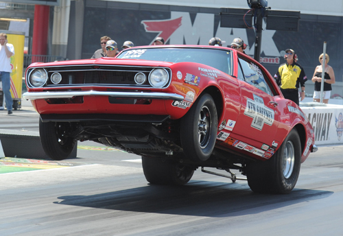 Rob Carpenter was behind the wheel of the high flying  Gaffney Motorsports SS/GA  Camaro at ZMAX.